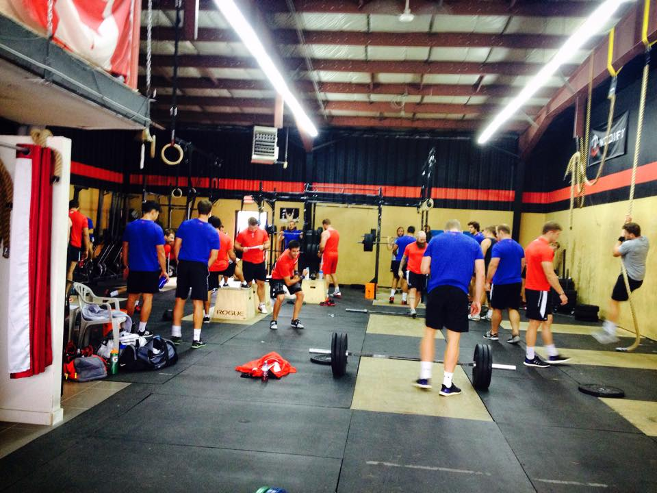 Canada Rugby Team Training @ CrossFit Bytown