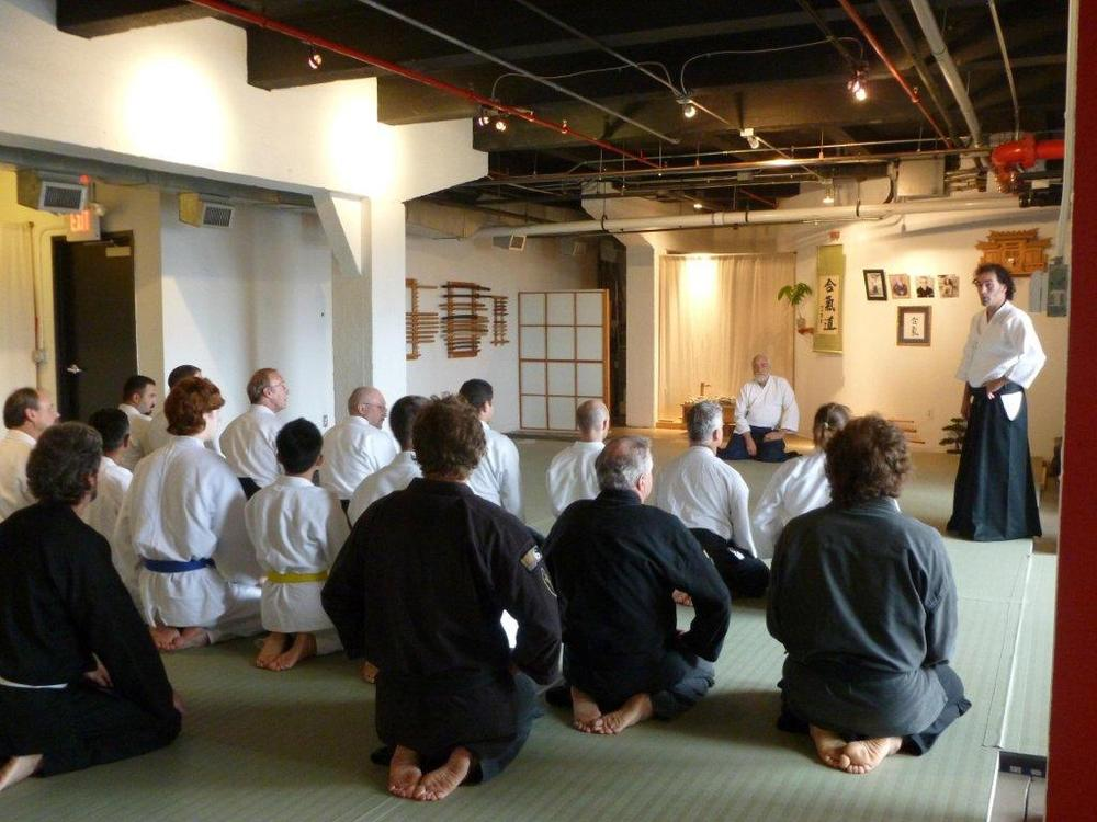 Seminar at City Aikido.