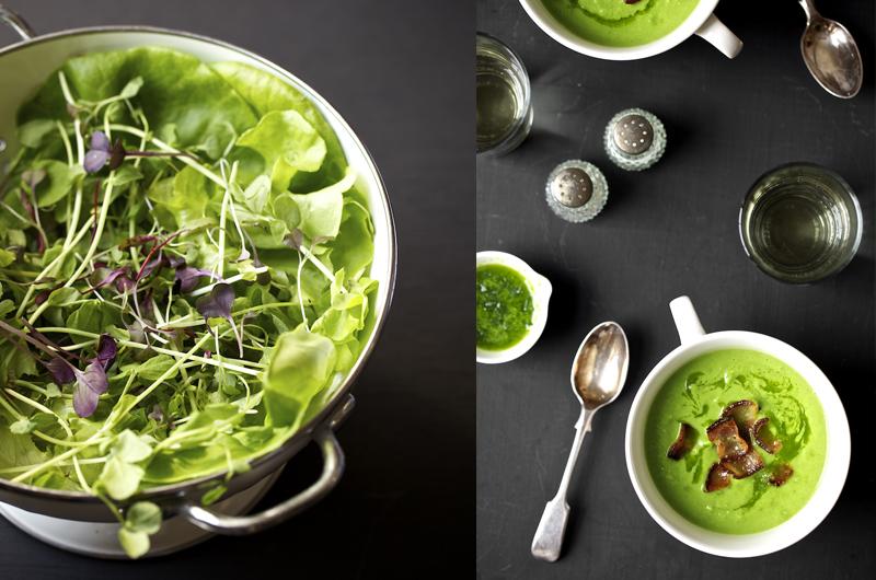 Mixed Greens Evi Abeler Food Photography