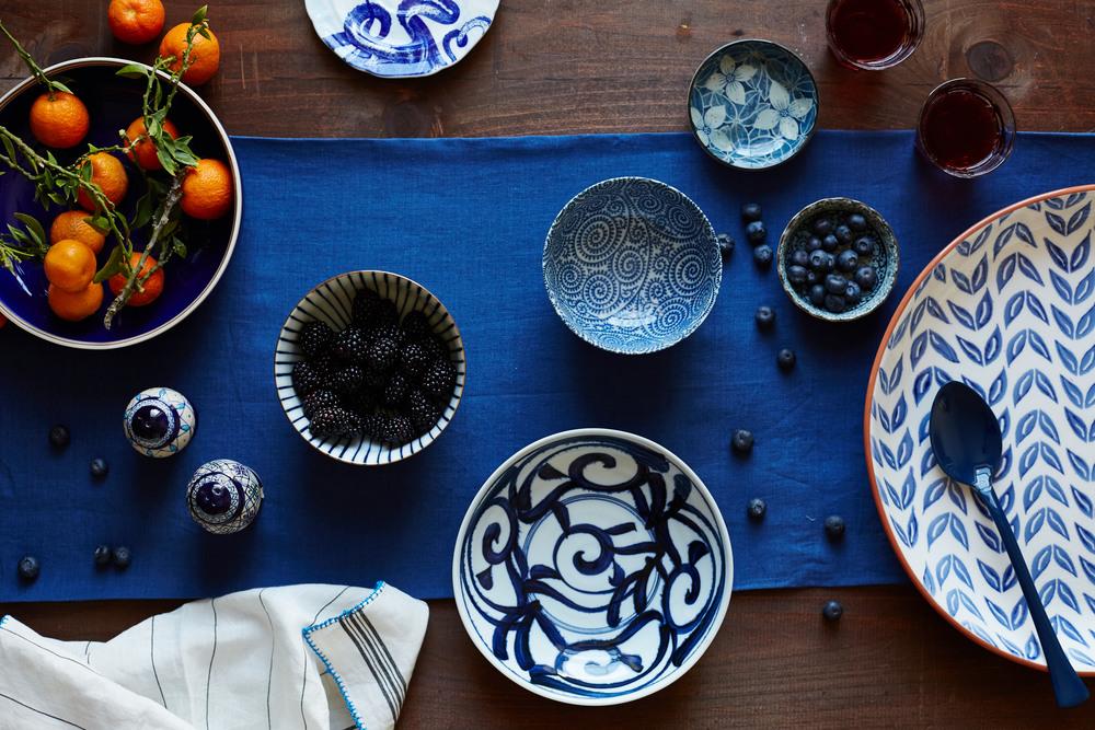Blue Ceramics Evi Abeler Still Life Photography