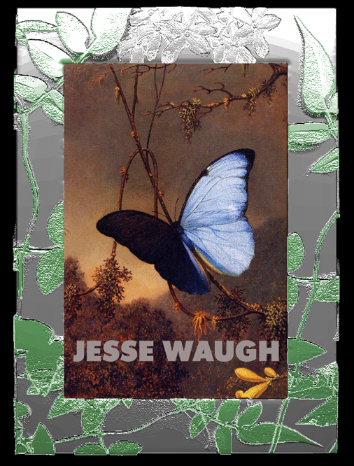 "Jesse Waugh ""Jasmine Frame"" 4X6 2012 Mixed metals, enamel and glass"