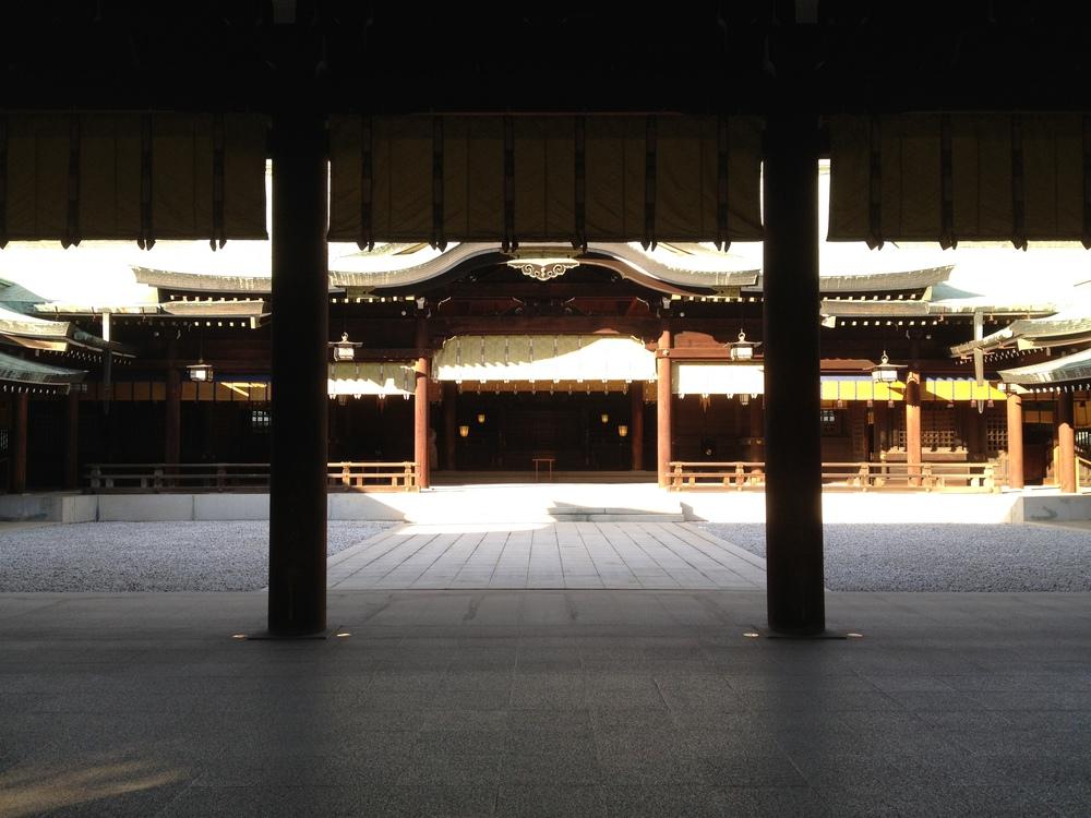 Meiji Jingu (Shrine) Shinto Temple in Tokyo, Japan