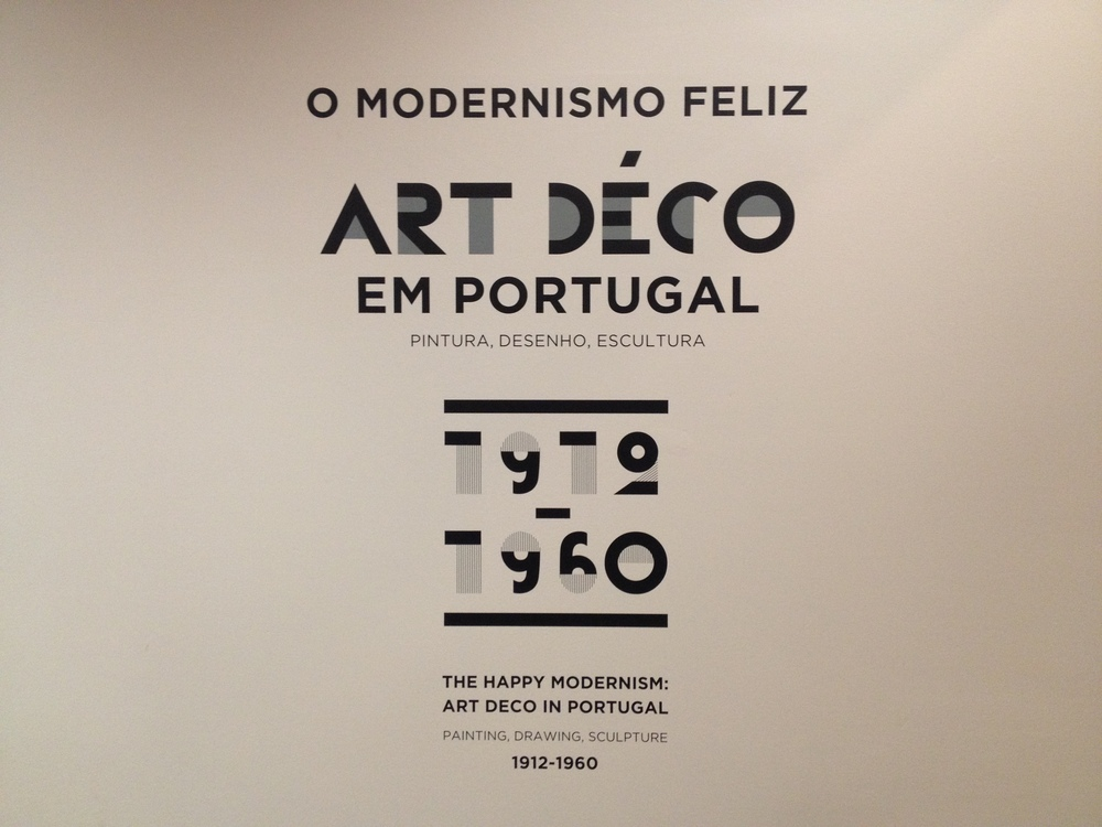 ART DECO EM PORTUGAL - Portuguese Art Deco Exhibition, Chiado Museum, Lisbon