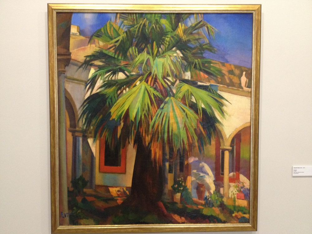 "Eduardo Viana ""Palmeira"" c 1923 Oil on canvas"
