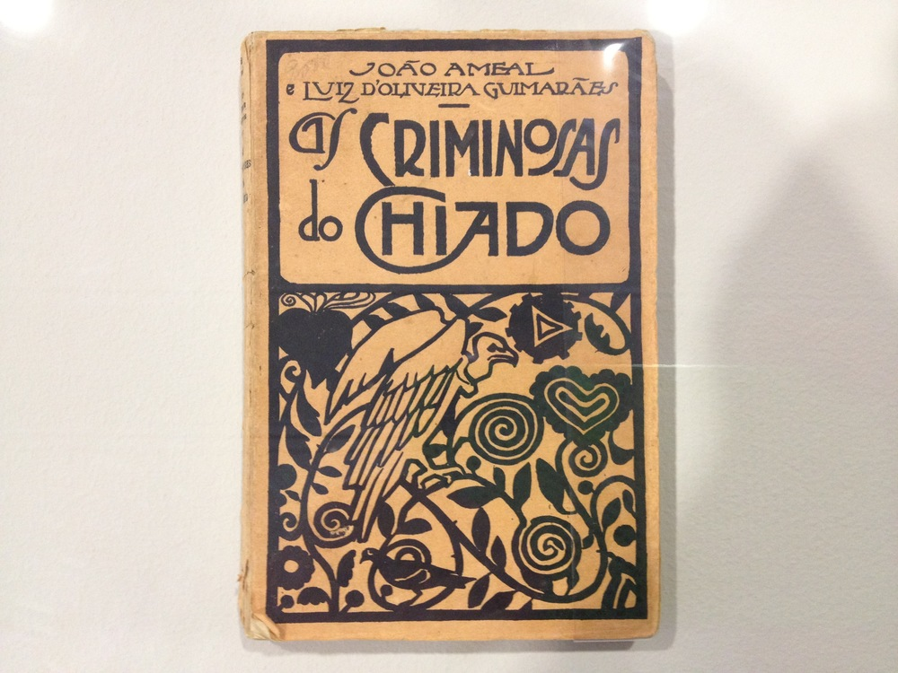 "Joao Ameal and Luiz d'Oliveira Guimaraes [Anonymous design] Cover for ""As Criminosas do Chiado"" c 1925"