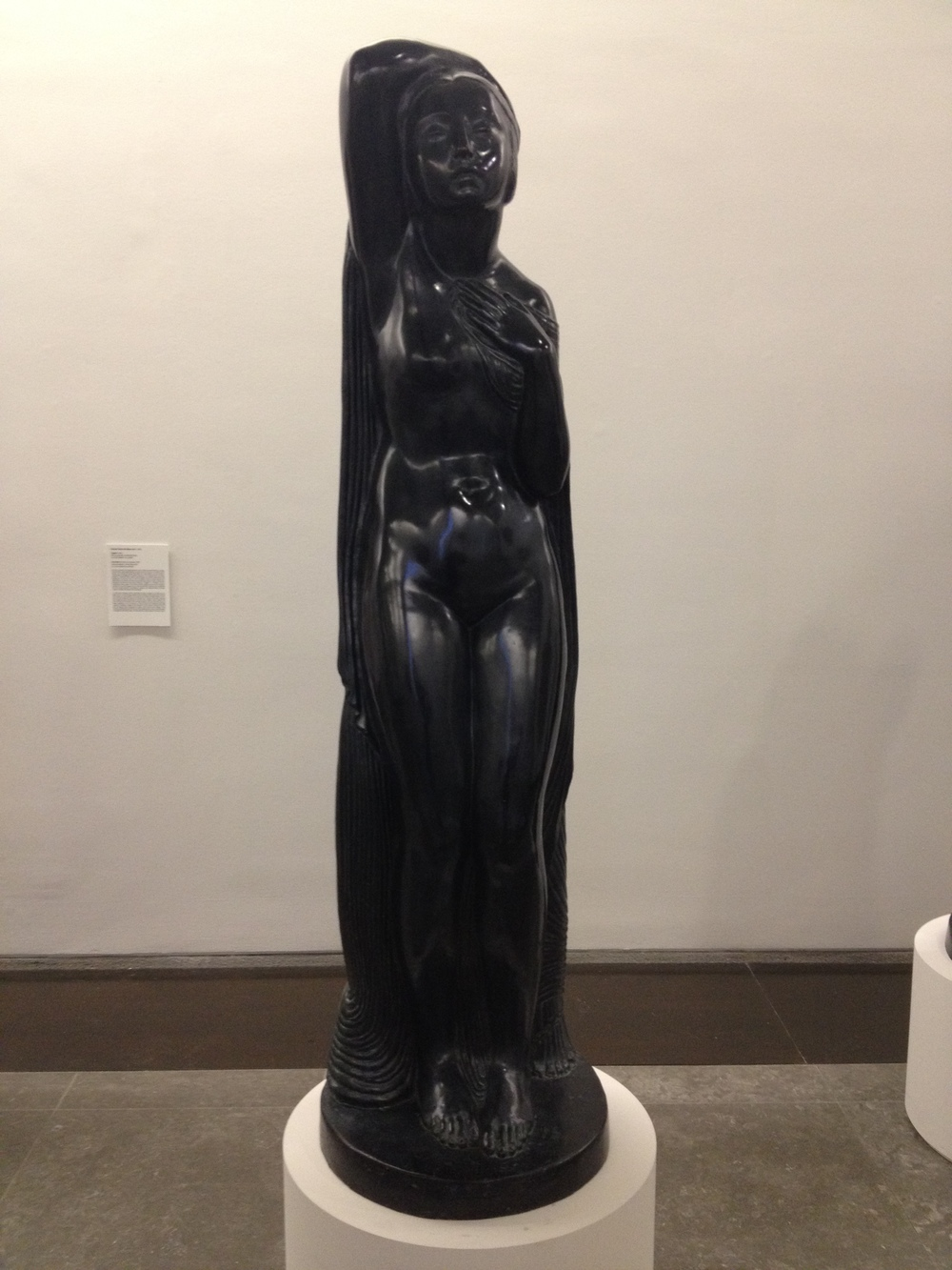 "Ernesto Canto da Maya ""Tragedie"" 1926 Patinated bronze"