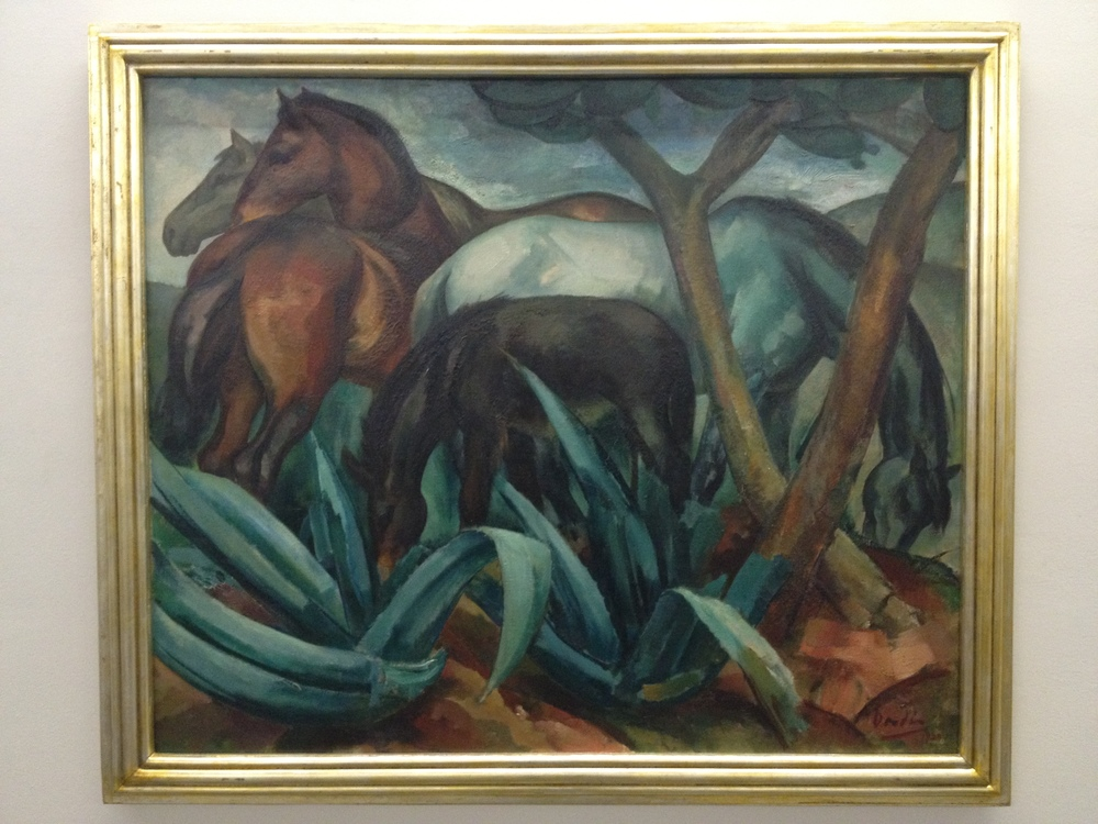 "Dordio Gomes ""Eguas de manada"" 1929 Oil on canvas"