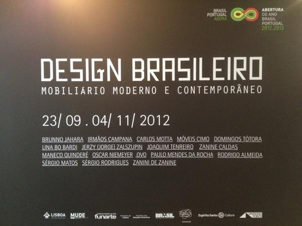 Design Brasileiro Lisbon Design Museum