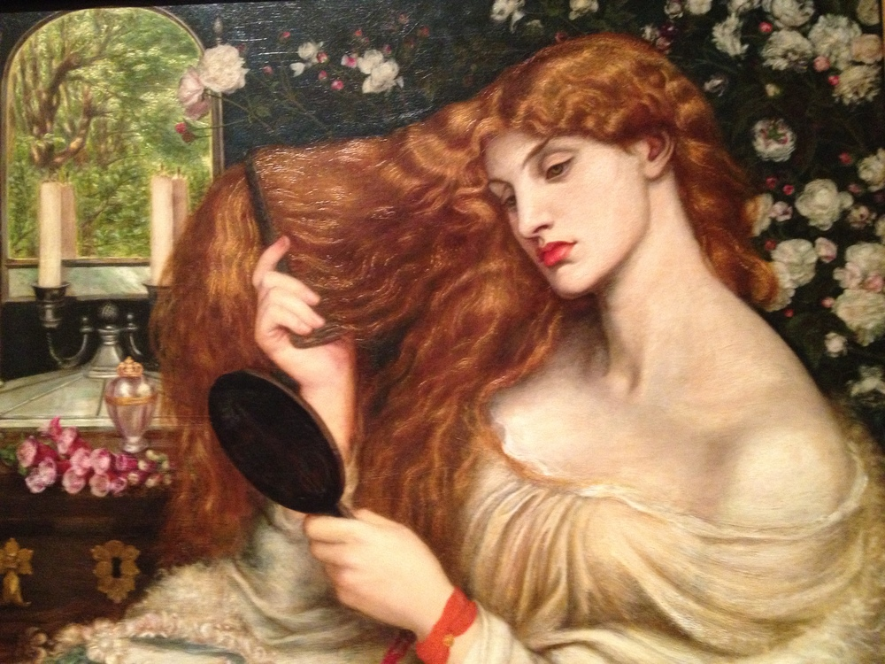 Dante Gabriel Rossetti Lady Lilith (detail) 1866-8, altered 1872-3 Oil on canvas