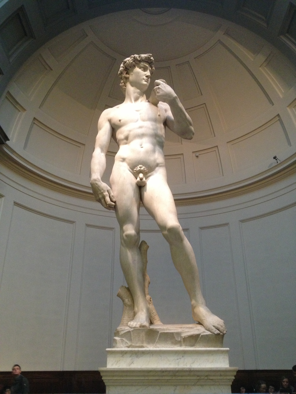 Michelangelo's   David   1501-1504 Galleria dell'accademia Marble Florence