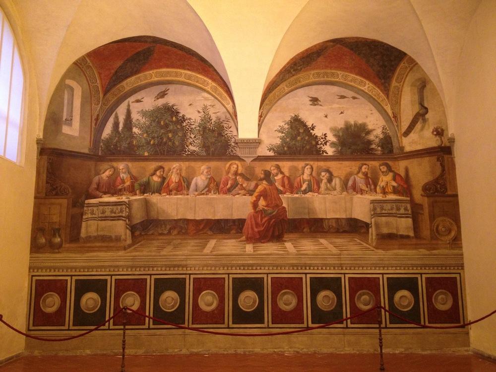 Ghirlandaio Last Supper Ognissanti