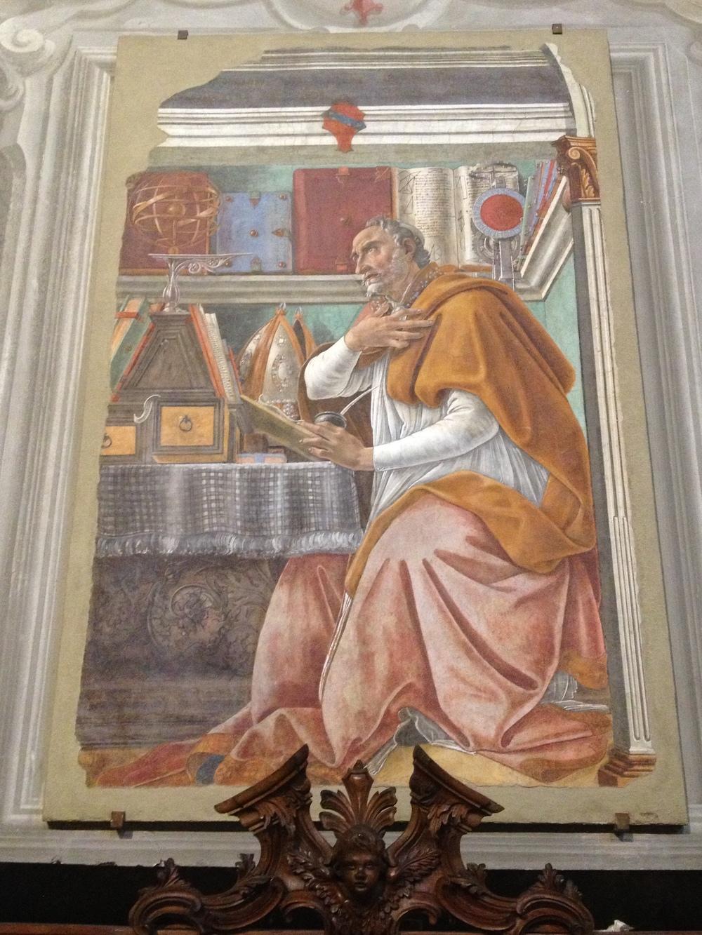 Botticelli Saint Augustine / Sant'Agostino / San Agustin