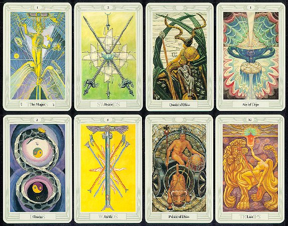 Crowley Tarot Freida Harris