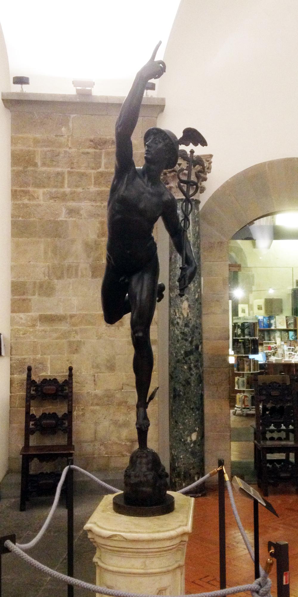Giambologna Mercury Bargello Firenze