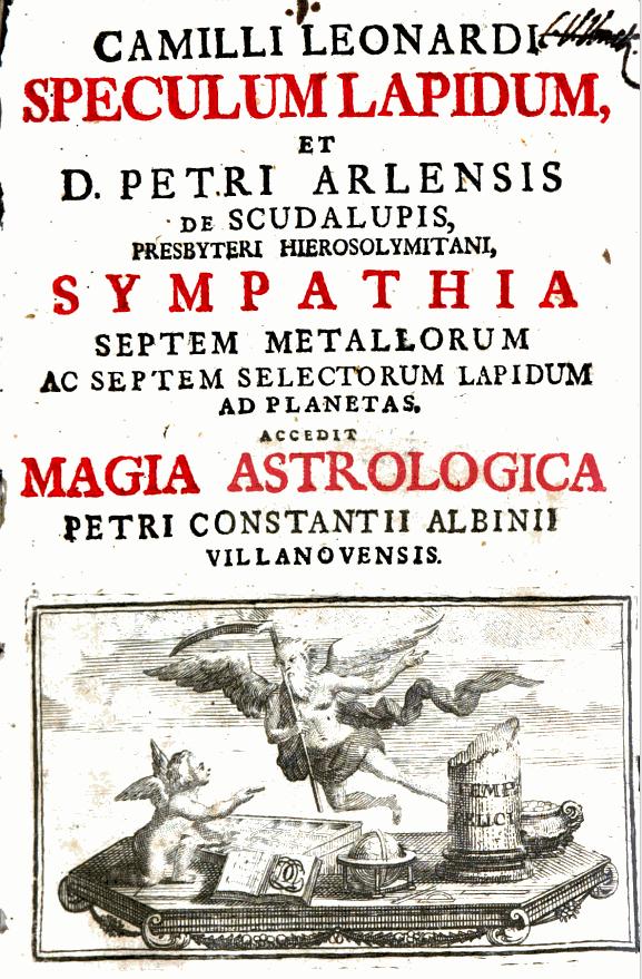 Speculum Lapidum Camillo Leonardi