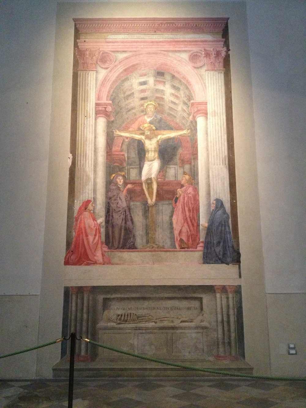 Masaccio Holy Trinity