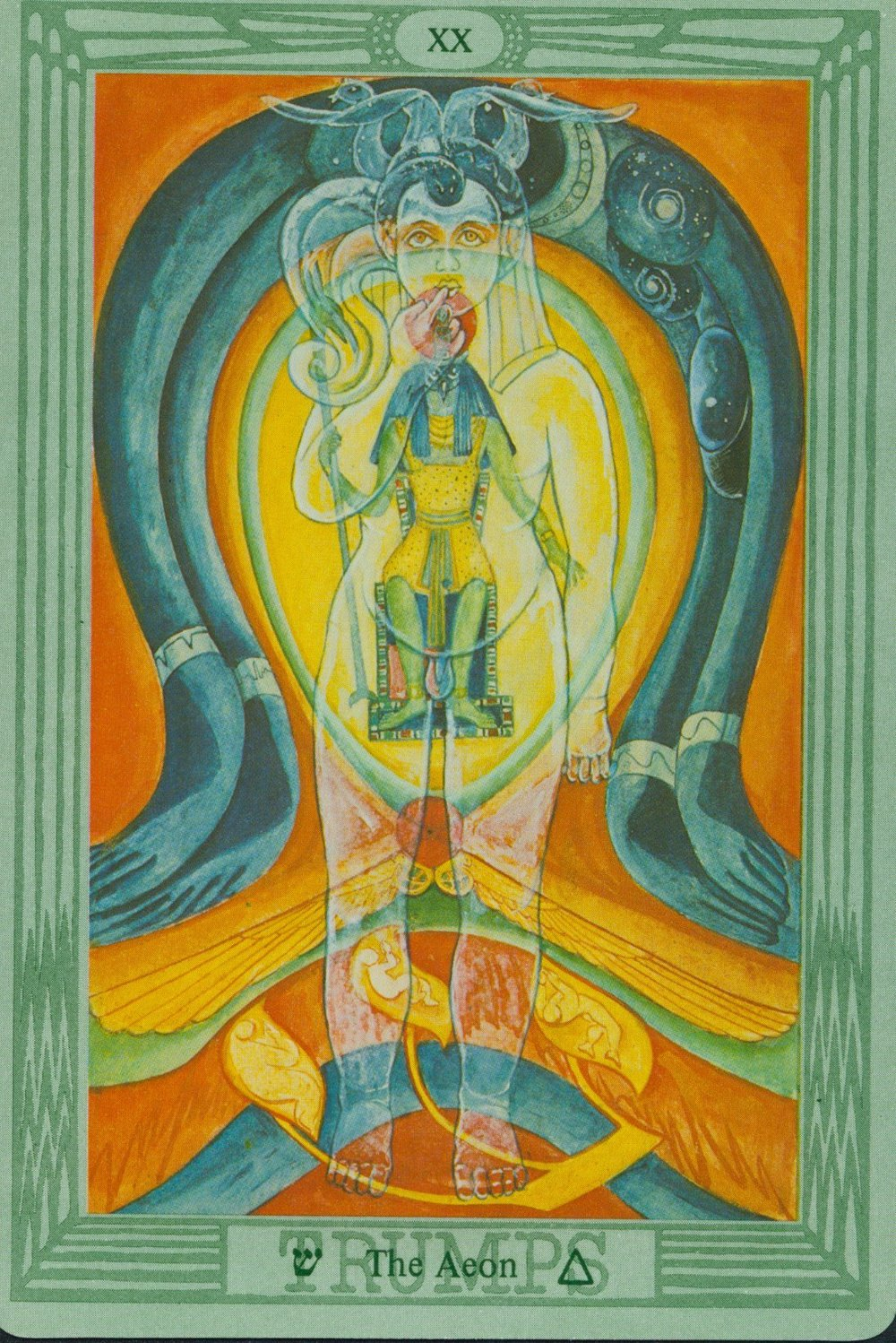 Freida Harris Thoth Tarot of Aleister Crowley