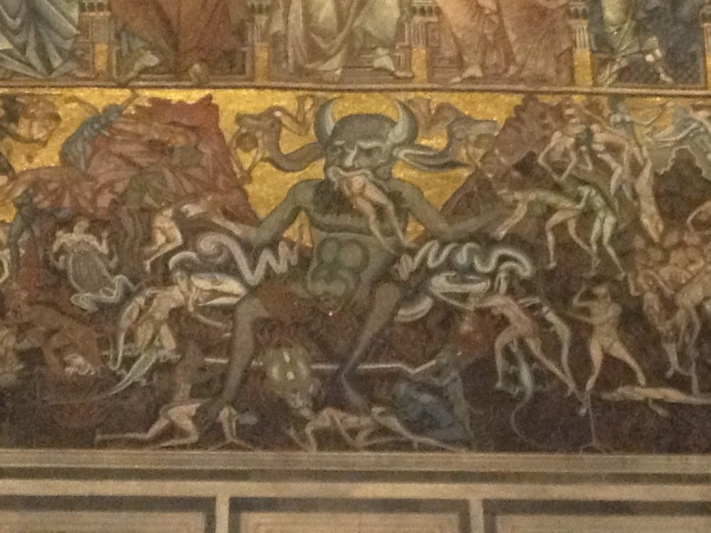 Beelzebub in The Baptistry