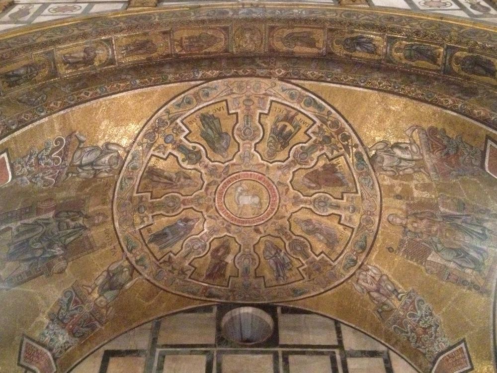 Ashoka-like Wheel Florence Baptistry