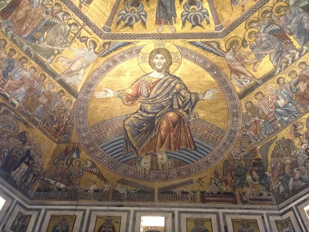 Jesus Christ Florence Baptistry