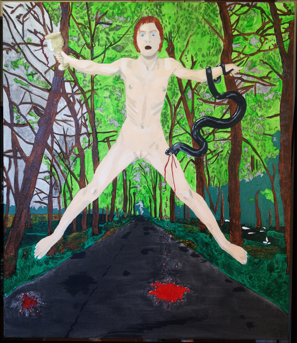 Jesse Waugh Suffrage 2013 Oil on canvas