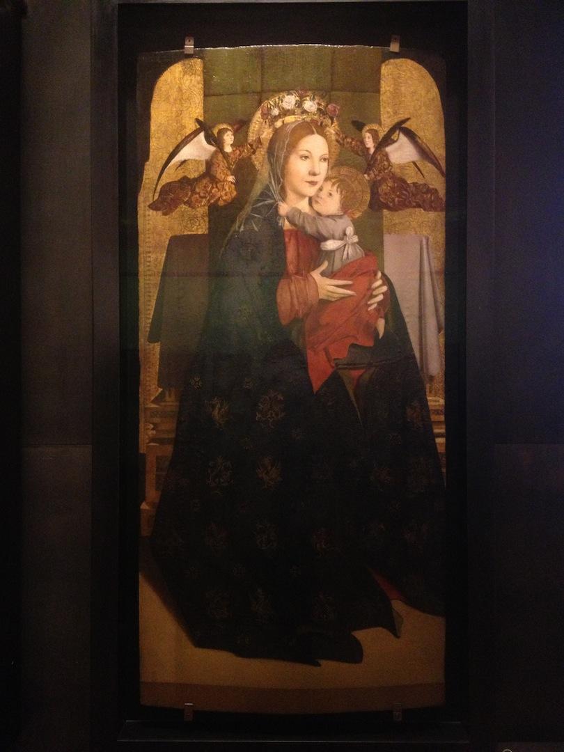 Antonello Da Messina Saint John The Evangelist Amp Madonna