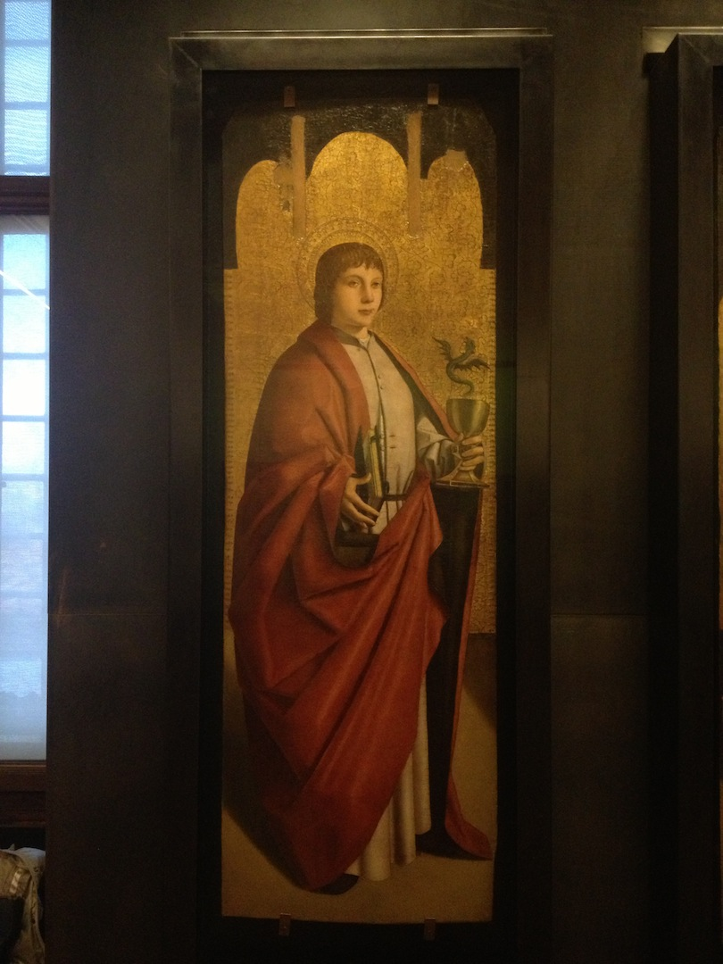 Antonello da Messina     Saint John The Evangelist   1470 circa Oil on panel
