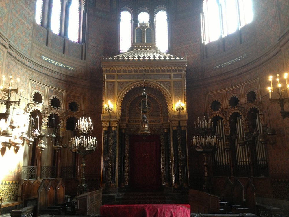 the synagogue of florence  arabesque renaissance revival