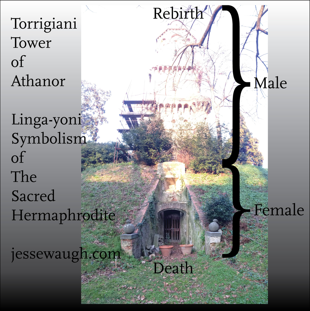 Tower of Athanor Linga-yoni / Sacred Hermaphrodite