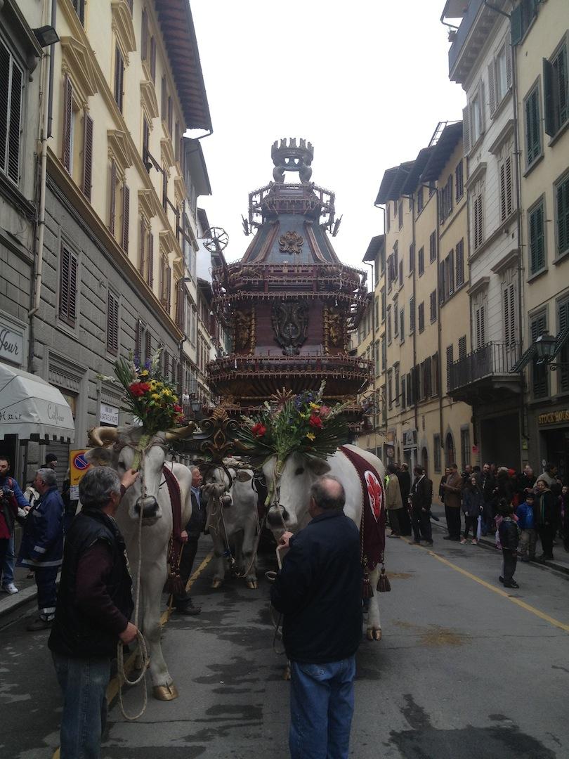 Florence Juggernaut  Easter Parade Ognissanti 2013