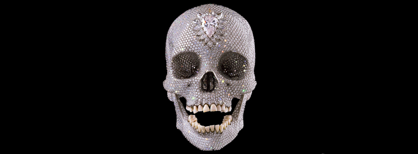 Damien Hirst For The Love Of God 2007 Diamond encrusted, platinum cast