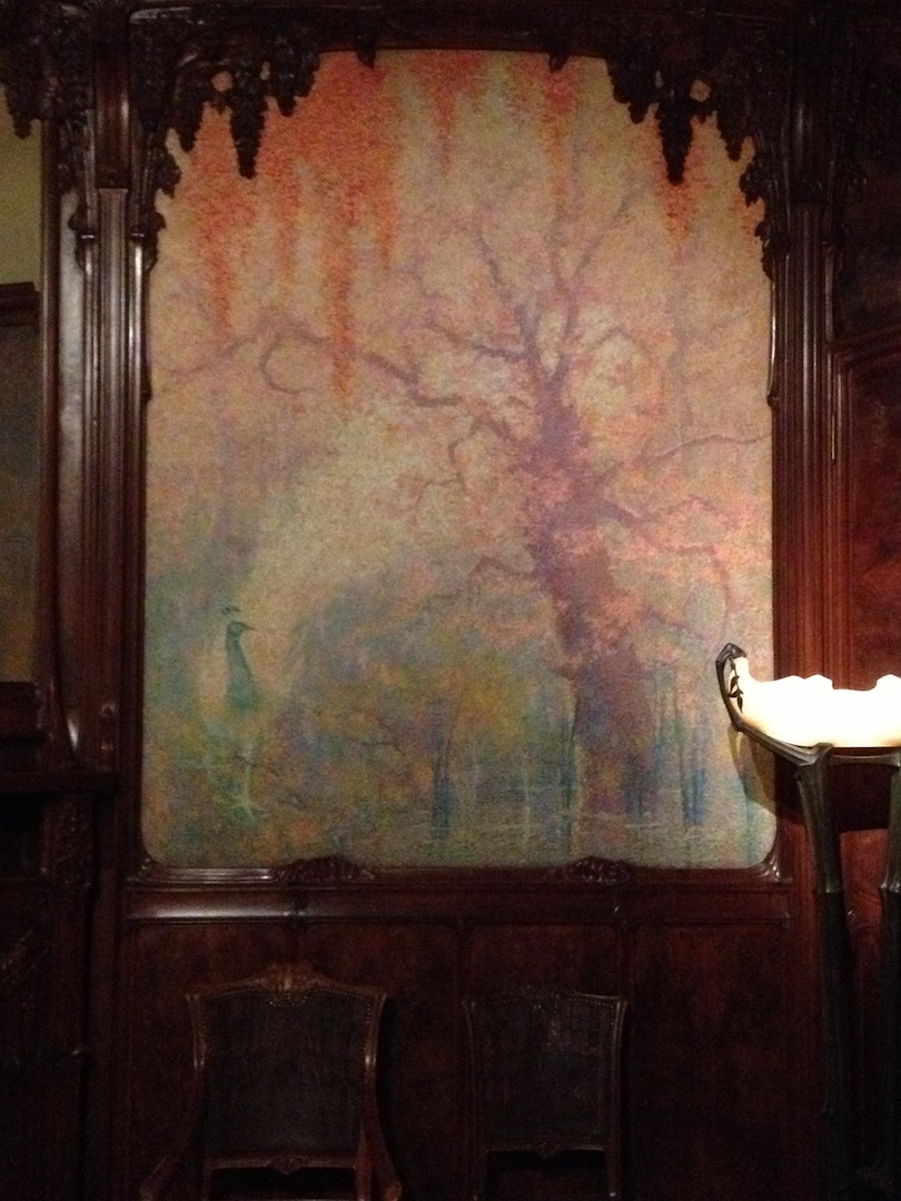 the wisteria room - art nouveau interior at the met! — jesse waugh
