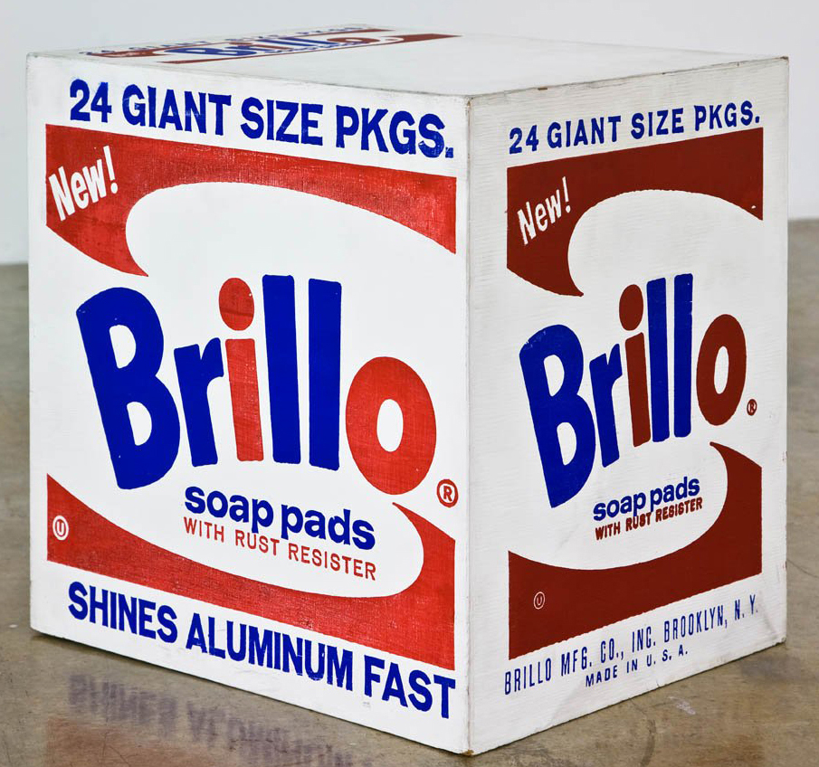 Andy Warhol Brillo Soap Pads 1964-1969 Mixed media