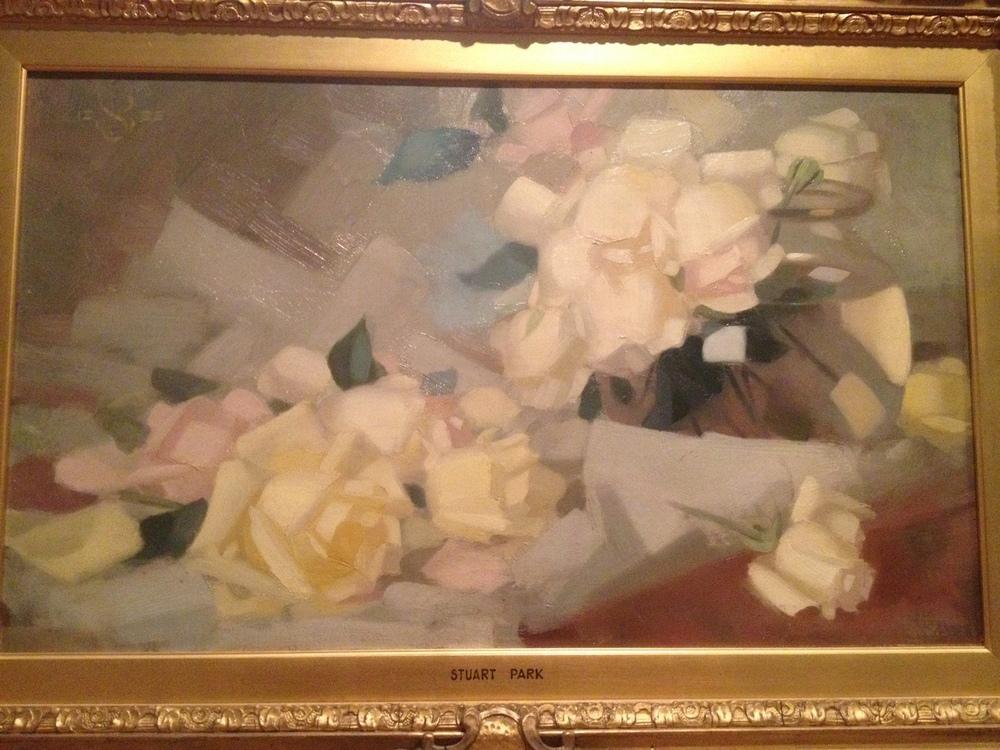 Stuart Park white roses.JPG