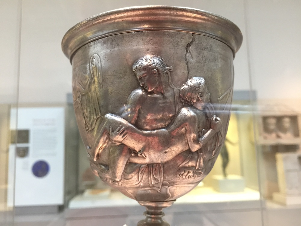 The Warren Silver Cup at the British Museum