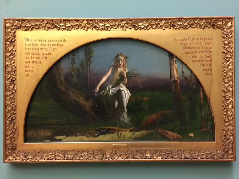 ophelia by arthur hughes 1852  u2014 jesse waugh