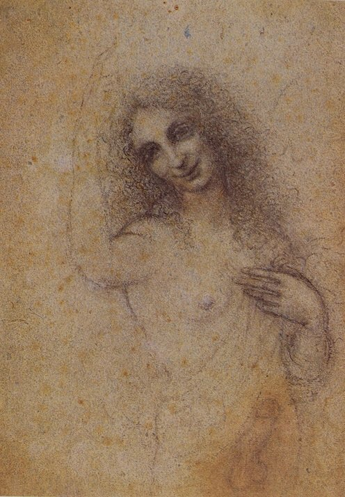Ithyphallic caricature / study of Salai attributed to Leonardo da Vinci