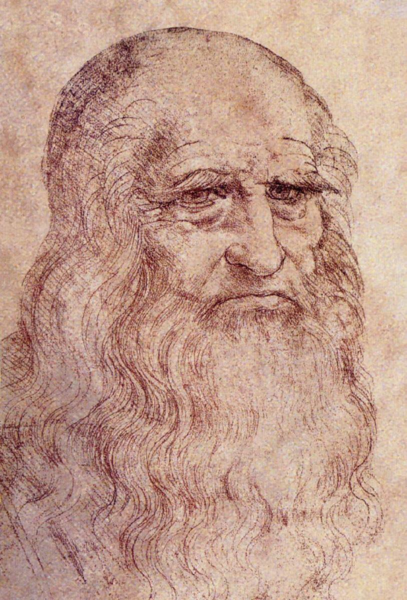 Mona Lisa as an old man?