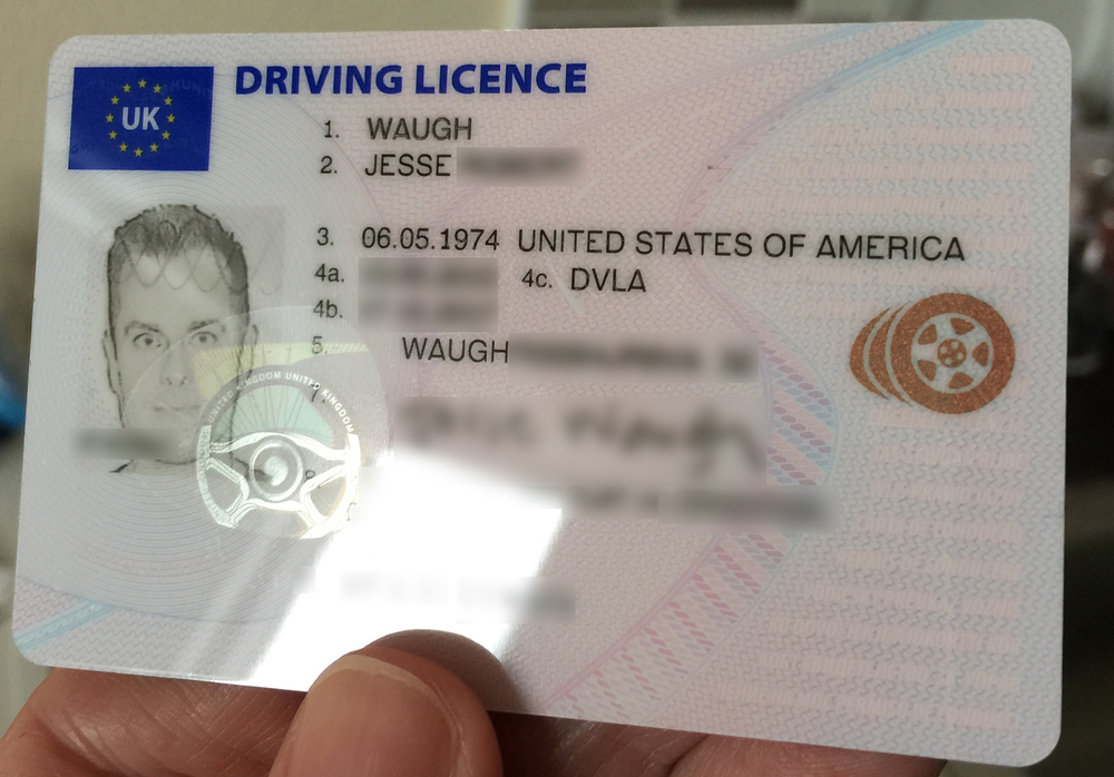 All-seeing — On Jesse Licence Driving Eyes Uk Waugh