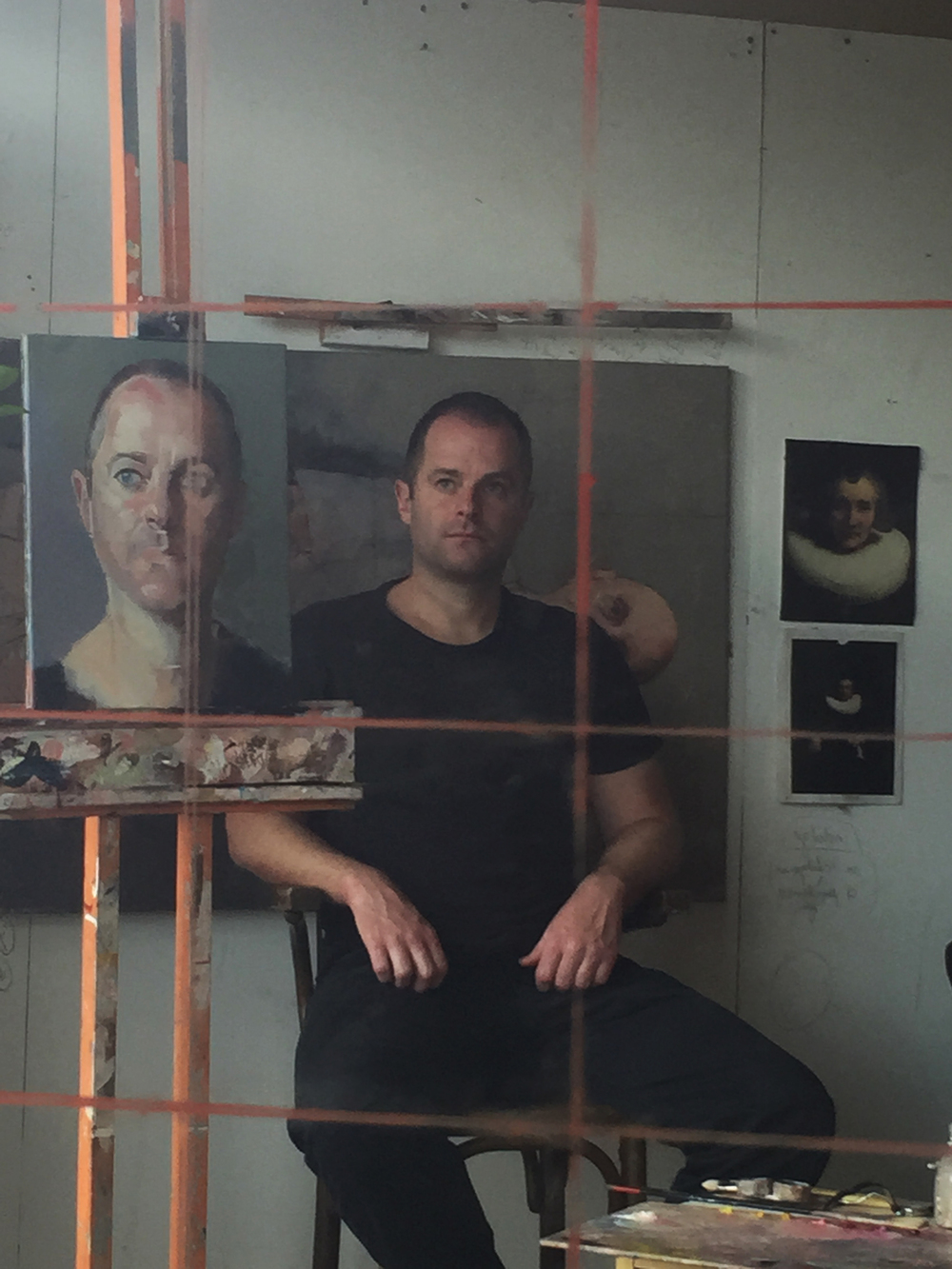 Jesse Waugh at Allan Ramsay's Studio