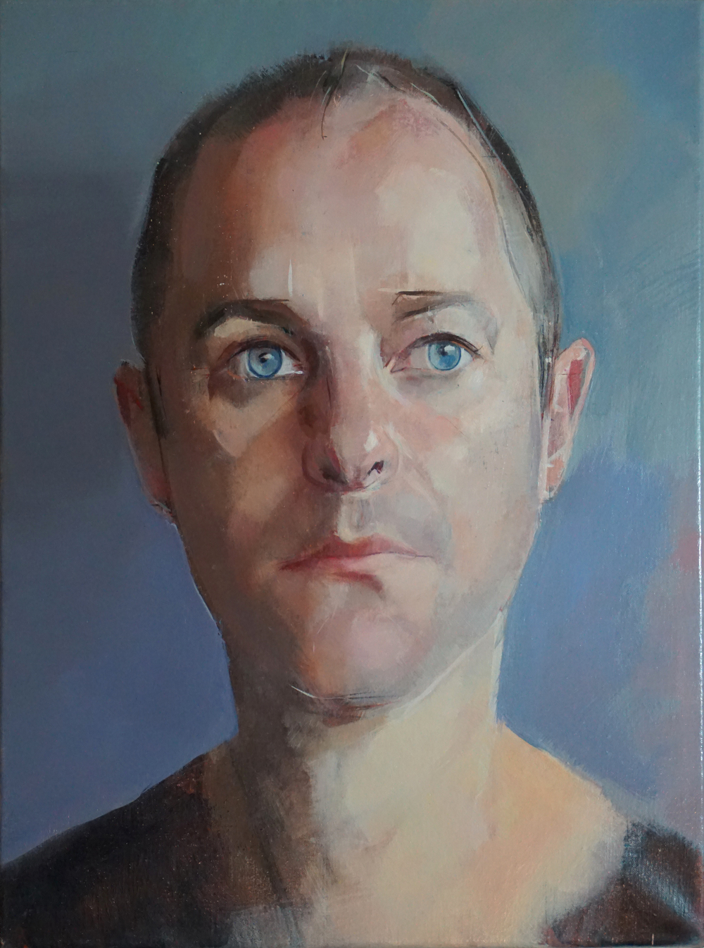 Allan Ramsay    Jesse's Light: Portrait of Jesse Waugh (Unanswered)   2015  Oil on canvas