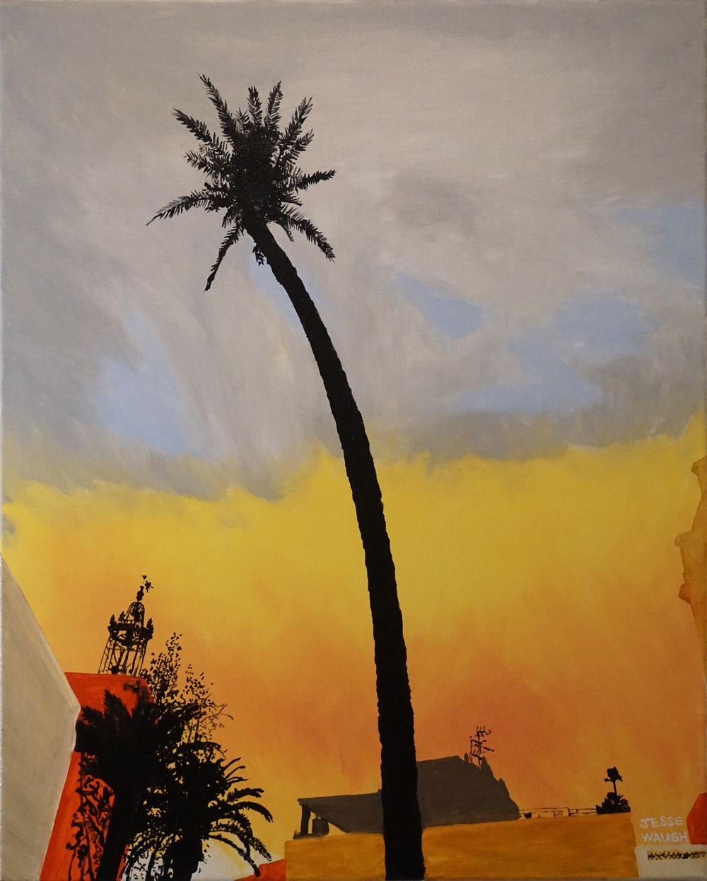 Jesse Waugh   Maricel Palm   2015 Oil on canvas