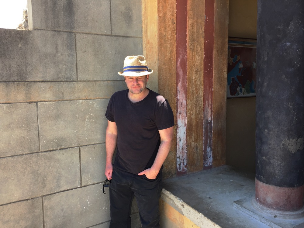 Jesse Waugh at Knossos