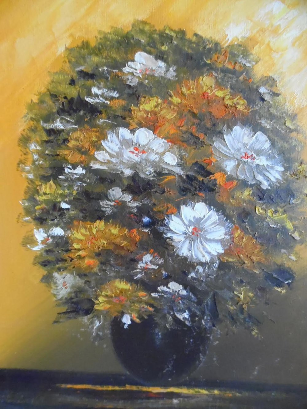 Flowers painting by   Audrey Bernice Graydon Waugh