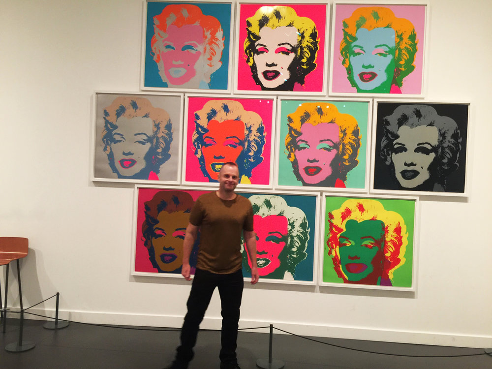 JESSE WAUGH - ANDY WARHOL - Marilyn Monroe