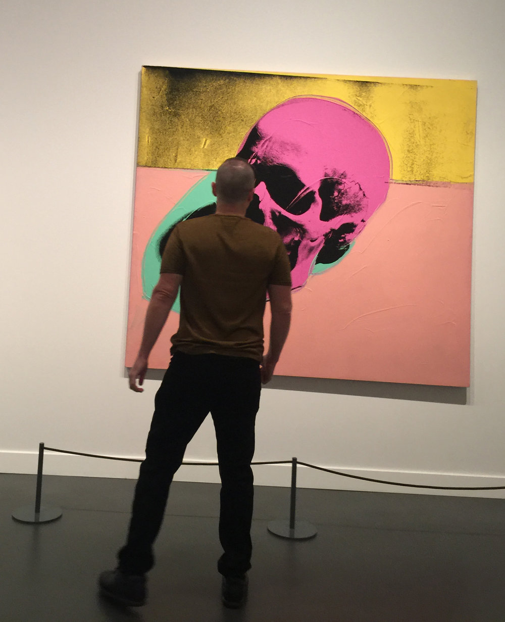 JESSE WAUGH - ANDY WARHOL - Skull