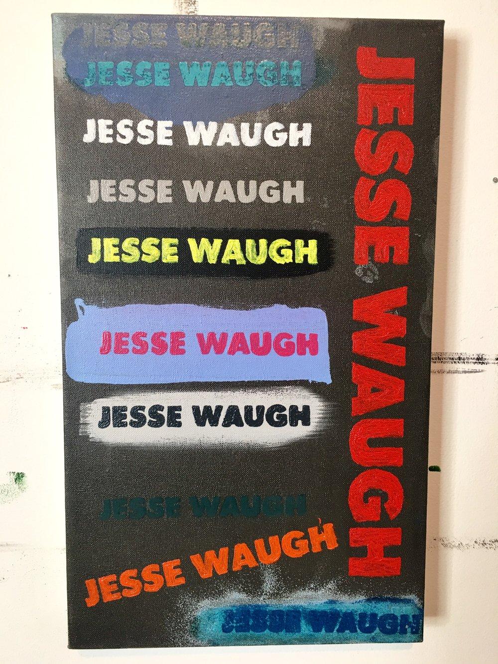 JESSE WAUGH Signature Panel