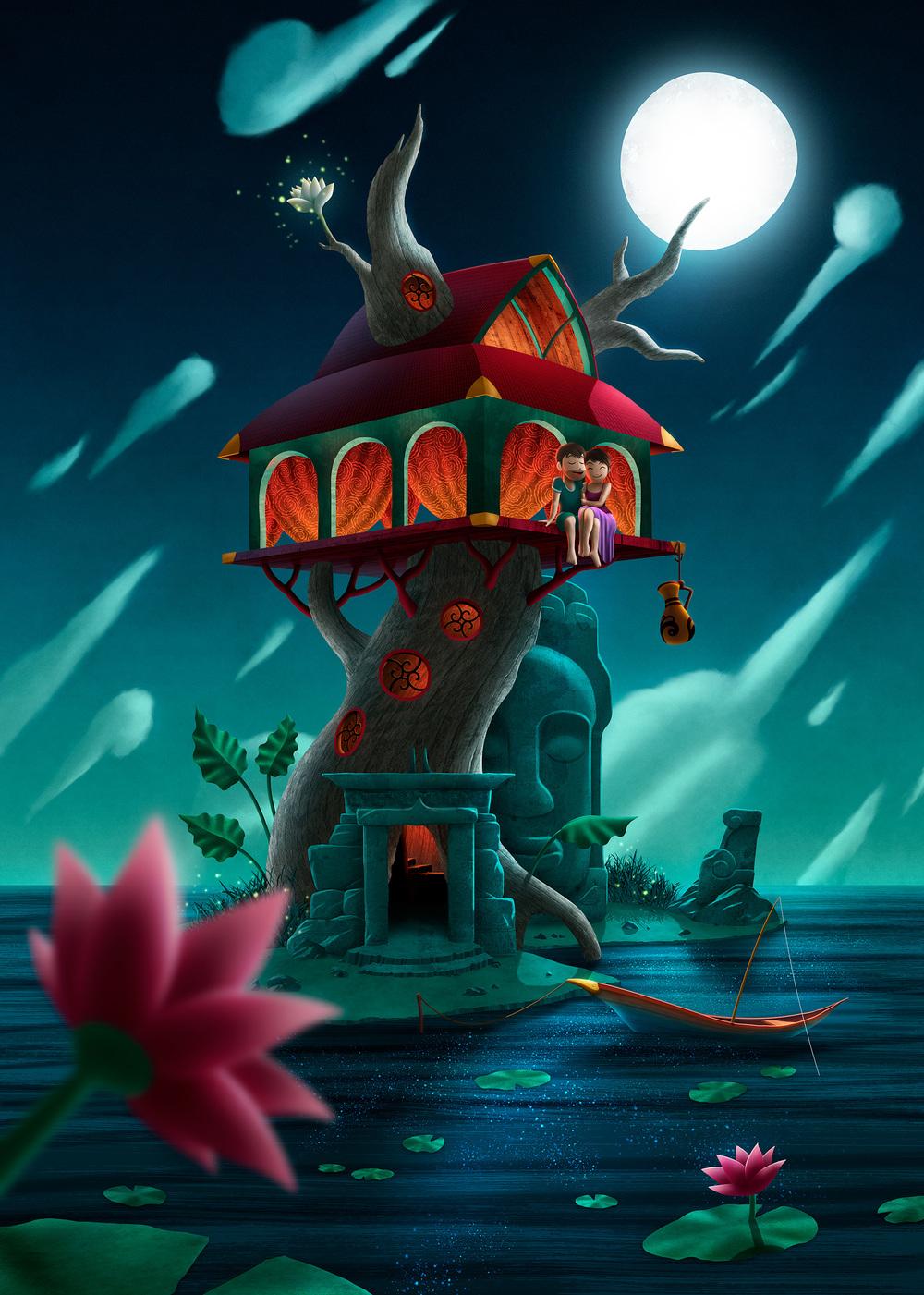 Cambodia Tree House
