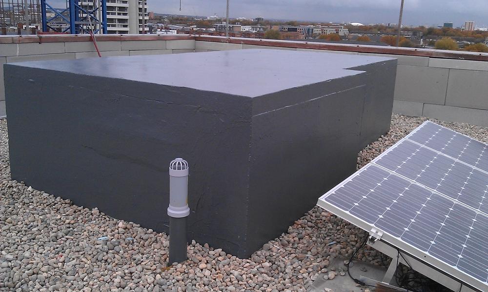 Bethnal Green 9th floor - lift shaft with UV coating IMAG0018.jpg
