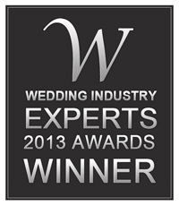 Wedding Industry Experts Awards 2013, won 2 years in a row